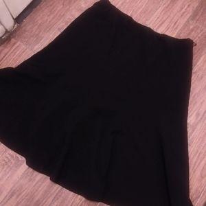 DRESSBARN ladies sz 18 black skirt